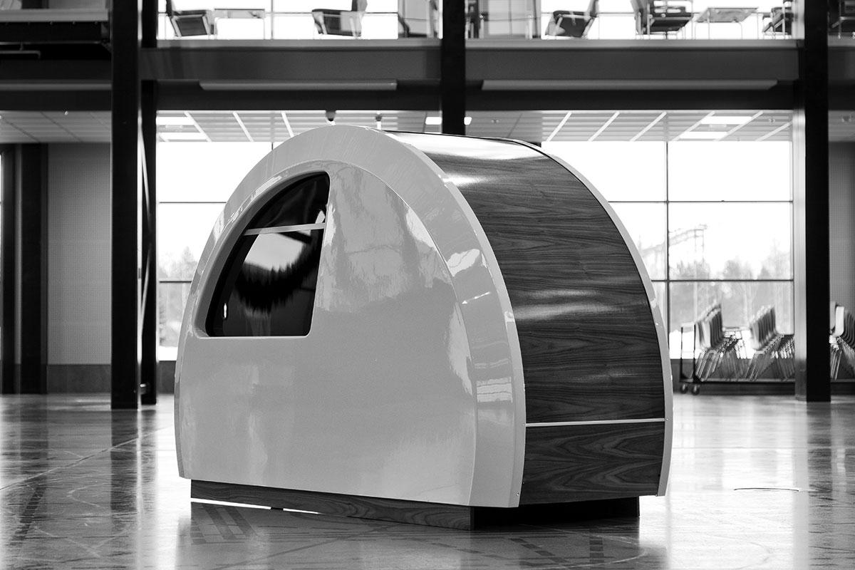 airport sleep capsule